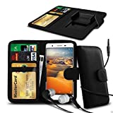 N4U Online® Clip On PU Leather Wallet Case Cover &