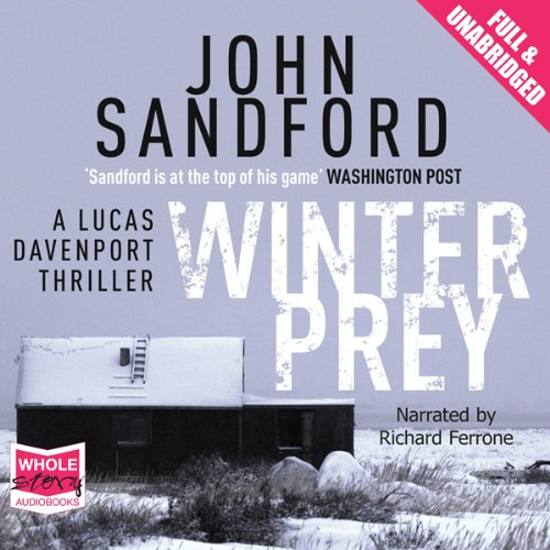 Winter Prey audiobook cover art