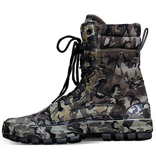 shoes Scarpe da Allenamento mimetiche for Uomo e Donna,39-46 Scarpe da Ginnastica Militari in Tela Traspirante Estiva Stivali da Combattimento Tattici, Scarpe da Lavoro da Cantiere for Uomo