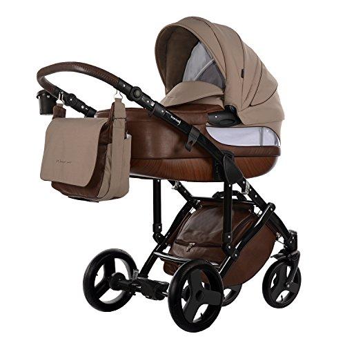 knorr-baby 2295-2 Kombikinderwagen Sportime Wood-Art, braun