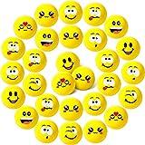 30 Stücke Stressball Anti Stress Spielzeug Bälle Für Kinder Erwachsene Mitgebsel Kindergeburtstag Junge Gastgeschenke Give Aways Kindergeburtstag Knautschball 1,6 Zoll Mini Schaum Kugeln
