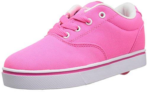 Heelys unisex-child Launch Skate Shoe, Neon Pink/White, 3 M US Little Kid