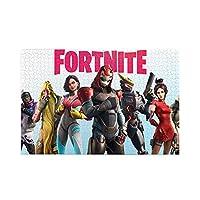 フォートナイト バトルロイヤル Fortnite ジグソーパズル1000ピース-大人の子供パズルおもちゃゲームクラシックパズル教育ギフト家の装飾壁ア(75x50cm)パズル