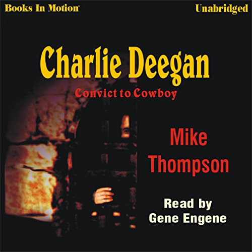 Charlie Deegan audiobook cover art