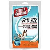 Simple Solution Hunde Windeln waschbar L