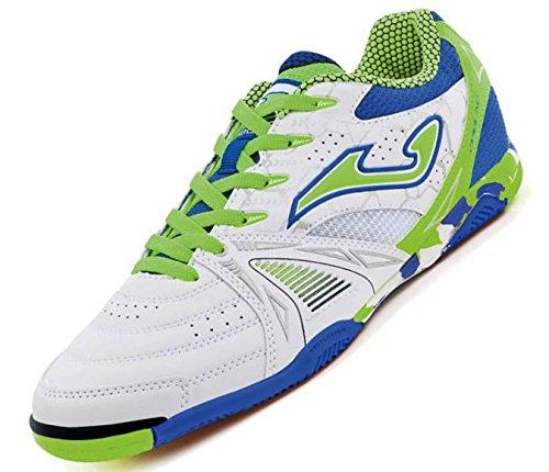 Joma Dribling 702 Indoor Schuhe Weiss Hallenschuhe Futsal, Größe:43, Farbe:weiß