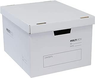 ダンボる ダンボール 収納ボックス(M) ダンボール箱 シンプル 5個セット DM01-0005-a 書類保存