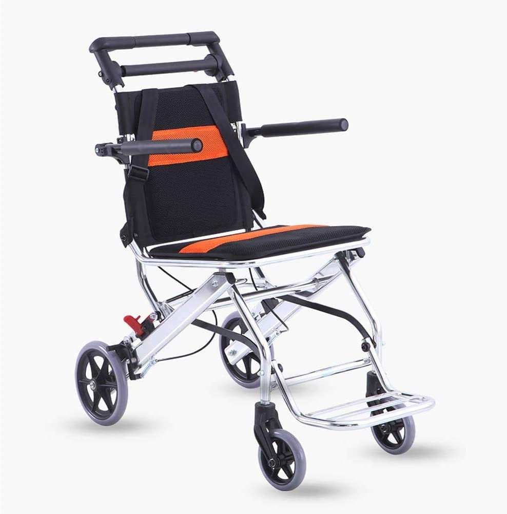 FDSAD Japan Maker New Ultra-Lightweight Wheelchair excellence Folding Portable Aluminum All