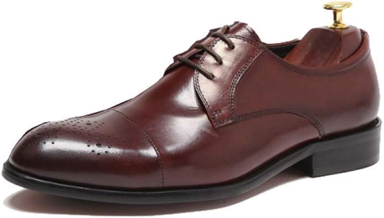 AEYMF Koreansk version av av av Pointed skor Autumn Business skor with herrar skor  för att ge dig en trevlig online shopping