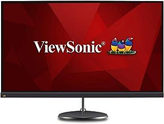 ViewSonic Monitor IPS sin marco con USB 3.2 Tipo C y FreeSync para el hogar y la oficina