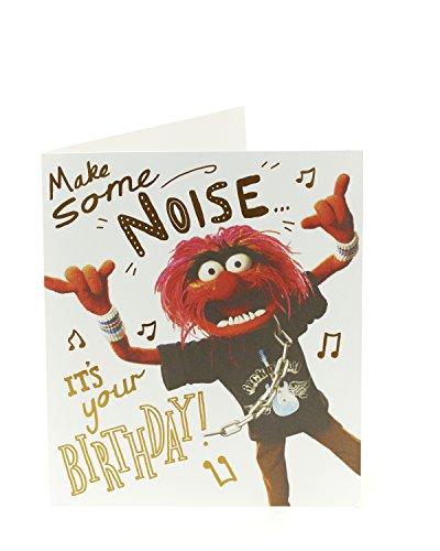 Lustige Geburtstagskarte – Geburtstagskarte für ihn – lustiges Muppet-Design