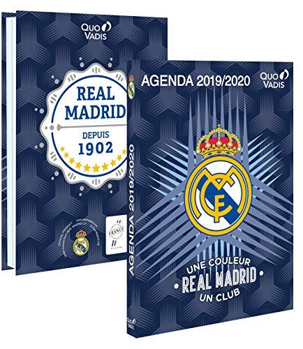 Quo Vadis-Agenda escolar deseptiembre de 2017a agosto de 2018, del Real Madrid (12x 17cm)