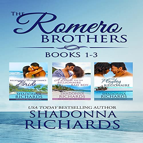 The Romero Brothers Boxed Set (Books 1-3) cover art