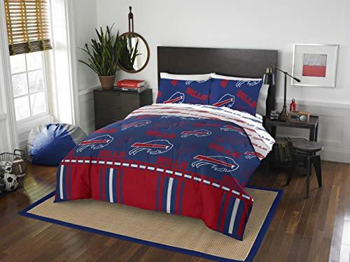 NFL Buffalo Bills Queen Bed In a Bag Set, 86