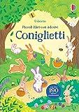 Coniglietti. Piccoli libri con adesivi. Ediz. a colori