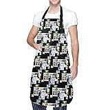 Anime & Re Zero - Rem - Do It for Her Delantal de Cocina con Bolsillo para Hombres y Mujeres