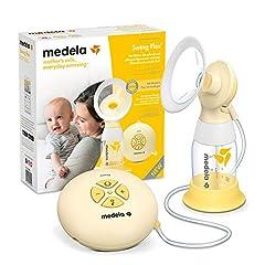 Medela Swing Flex pompe à lait électrique, pompage unilatéral, pour plus de lait en moins de temps