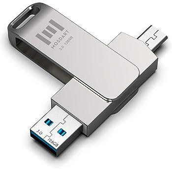 3 en 1 Tecenugiz 32 GB USB C Flash Drive Chromebook para Android Smartphones Dual Phone//Computer Memory Stick con USB Type-C y USB 3.0 Puertos Laptop MacBook Impermeable