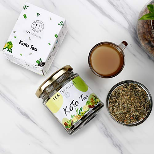 TeaTreasure Keto Tea for Weight Management