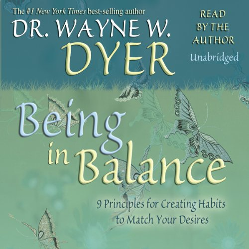 Being In Balance audiobook cover art