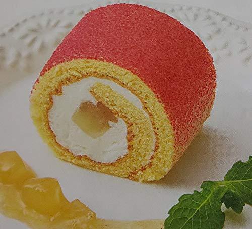PS彩ロール ロールケーキ ( 白桃 カスタード 風味 ) 220g×12本 冷凍 業務用