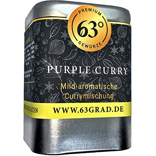 63 Grad - Purple Curry - Hibiskusblüten Curry Mischung