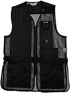 Bob-Allen Shooting Vest Left Handed Black Medium