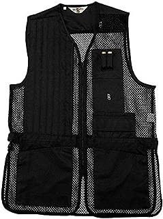 Bob-Allen Shooting Vest Left Handed Black Medium