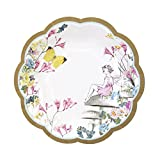 Talking Tables Truly Fairy Paper Plate with Fairy Design for a Tea Party or Birthday, Multicolor (1)