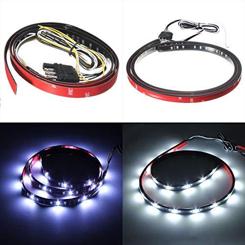 LICHONGUI Autoflexibel wasserdicht 2835 72SMD-LED-Streifen-Licht 120cm (Color : 1)