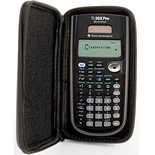 SafeCase Étui de protection pour calculatrice de poche TI 30 XA/XB / XS/X Pro MultiView