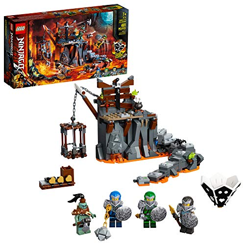 LEGO NINJAGO Journey to The Skull Dungeons 71717 Ninja Playset Building Toy for Kids Featuring Ninja Action Figures, New 2020 (401 Pieces)