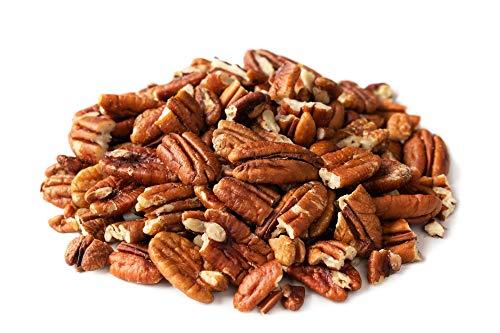 Noix de Pecan Bio 1kg brisures biologiques, végétalien, décortiquées, crues, non grillées e non salées, sans additifs, naturelles, vegan 1000g gr