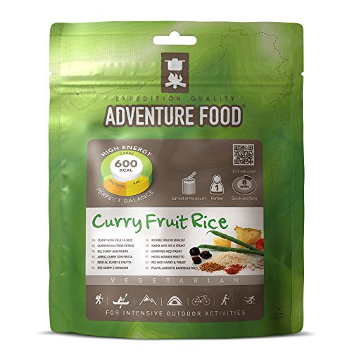 Adventure Food Curry Fruit Rice 143 g