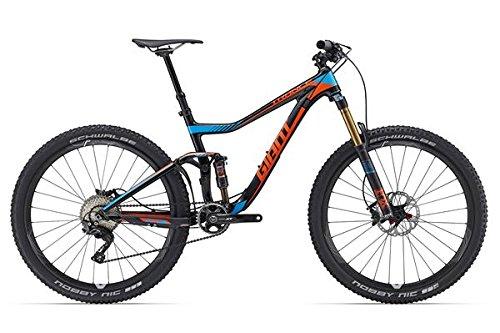 Giant Trance Advanced 1275pollici Mountain Bike Blu/Nero/Arancione (2016), unisex, Black/Blue/Orange, 38 (EU)