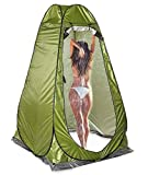 JXWL Pop up Duschzelt Umkleidezelt Toilettenzelt, Camping Duschzelt Mobile Tragbar Outdoor Privatsph WC Zelt Lagerzelt für Camping und Strand (Grün)