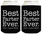 Father Day Gifts for Dad Best Farter Ever Oops Meant Father Fathers...
