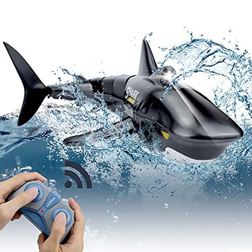 Pristar Mini RC Tiburón Teledirigidos Recargable...