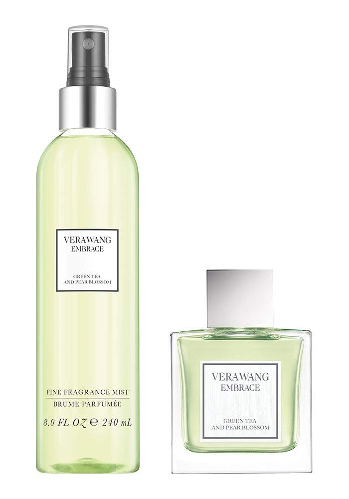 Vera Wang Green Tea And Pear Blossom Eau De Toilette Women'S Fragrance Spray 30Ml And Body Mist/Spritz, 1 Fl Oz