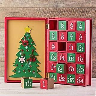 【カルディ限定】 アドベントカレンダー ウッドブックカレンダー 木製