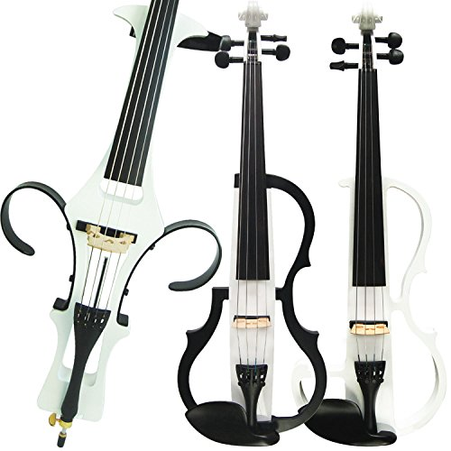 Aliyes Handmade Silent Electric Violin 4/4 Full Size Professional Student...