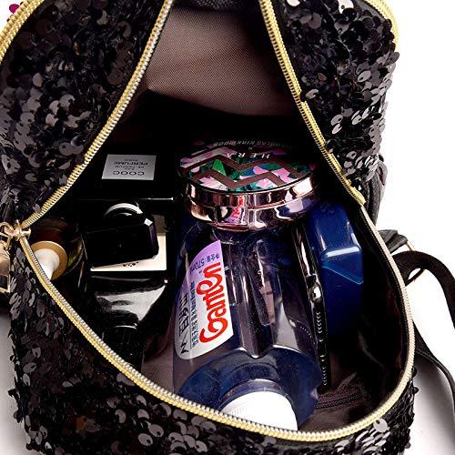 MOCA MERMAID Magic BowKnot Sequins bag Women's Kid girls girl Mini Small Travel Daypack Casual Backpack Backpacks Backbag for Womens Women's Girls Kids Backpacks Shoulder Bag