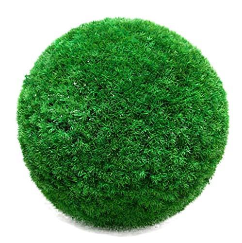LXLTL Kunstpflanzen Hochwertige Künstliche Buchsbaumkugel Plastik Grün Naturgetreu & Wetterfest - Dichtes Blattwerk & Natürliche Farben - Premium (Indoor & Outdoor),36cm