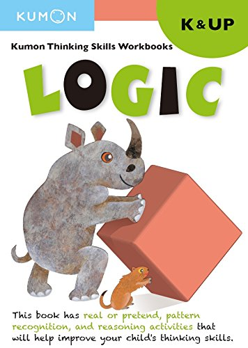 Kumon Thinking Skill Workbooks LOGIC K&UP