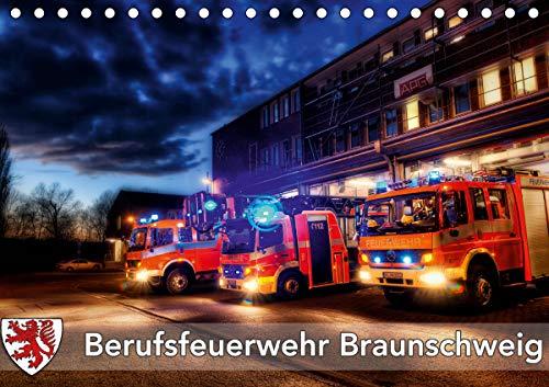 Berufsfeuerwehr Braunschweig (Tischkalender 2021 DIN A5 quer)