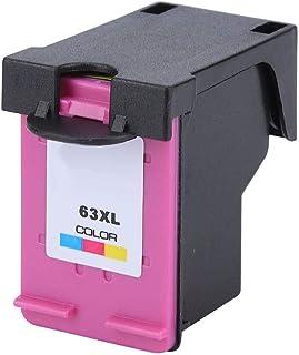 ملحقات بديلة لخرطوشة الحبر عالية السعة مناسبة لطابعة HP2130 3630 111 4520 4650 5740 (63 لونًا)
