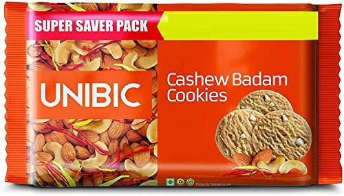UNIBIC Cashew BADAM Cookies 500g ( Pack of - 2 )