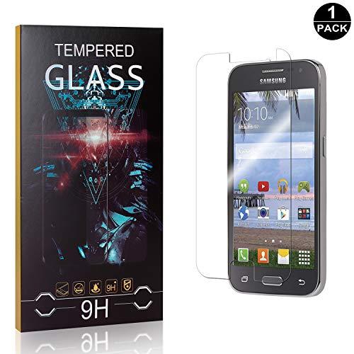 Bear Village® Verre Trempé pour Galaxy Core Prime, Anti Rayures Protection en Verre Trempé Écran pour Samsung Galaxy Core Prime, Dureté 9H, 99% Transparent, 1 Pièces