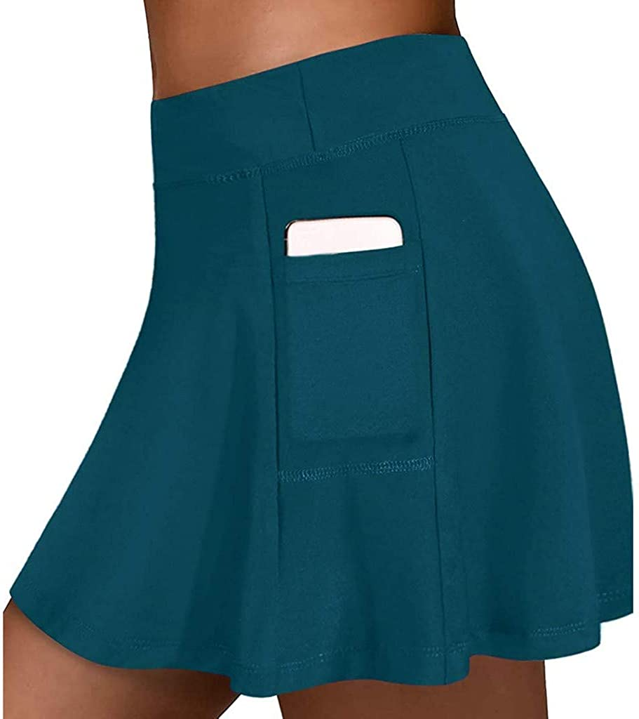 QCool Tennis Skirts for Women Pockets Athletic Same day shipping Golf Shorts Complete Free Shipping with