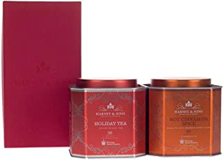 Harney & Sons HRP Spiced Duo Tea Gift, Cinnamon, 60Count